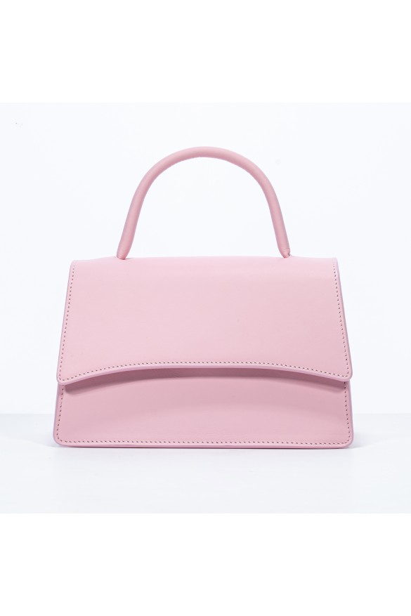 ALICE BABY PINK LEATHER BAG