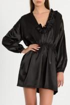 ARIA satin dress