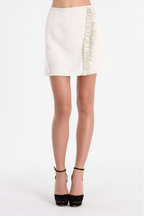 CHRISTIE wrap mini skirt