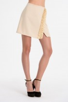 ANGELA  wrap mini skirt